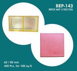 PVC Moulds for Brick Mat ( 150 X 150 )