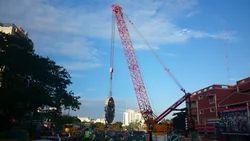 Crane With Luffing Jib