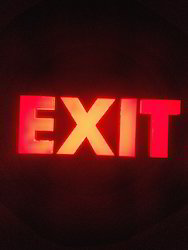 Exit LED Signage Lights
