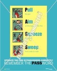 Fire Safety Poster- PASS
