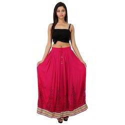 Khadi Print Skirt