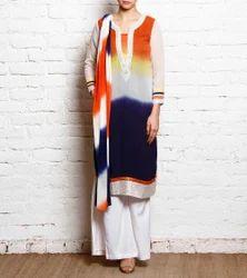 Designer Beautiful Party Wear Long Suit