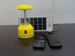 Solar Lantern with Mobile Charging System