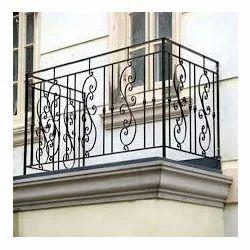 Balcony grills in mumbai maharashtra india indiamart - Box grill designs balcony ...