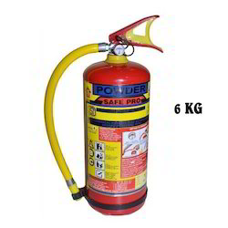 Stored Pressure Dry Powder Fire Extinguishers