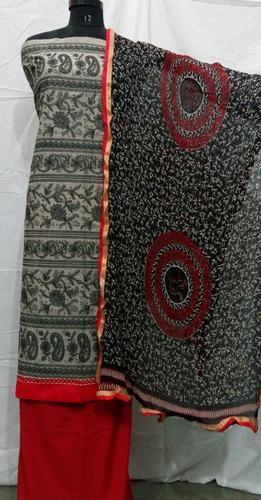 Embroidered Chanderi Suits