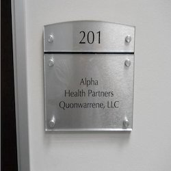 Exterior Acrylic Signage for Office