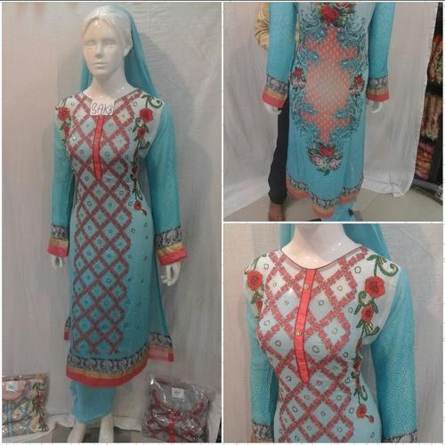 Georgette Fashionable Suits