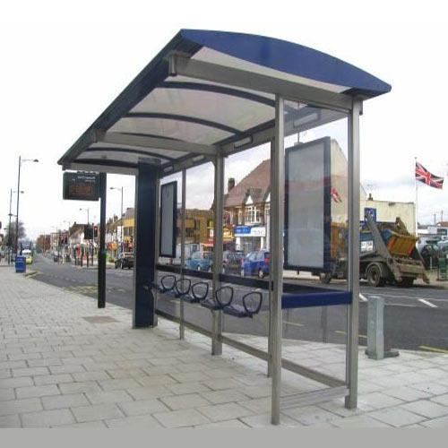 Steel Bus Shelters : Bus shelters shelter manufacturer from navi mumbai