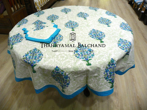 Cotton Printed Table Covers