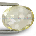 3.12 Carats Yellow Sapphire