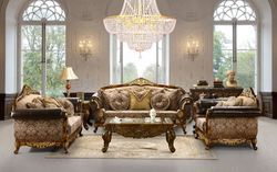 Talbot Wooden Sofa Set