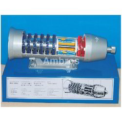 Turbojet Engine Working Model