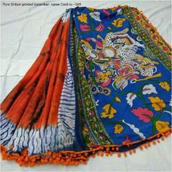 Indian Kalamkari Saree