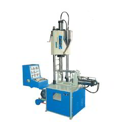 vertical screw type ram clamping moulding machine
