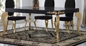 French Diva Wooden Dining Table