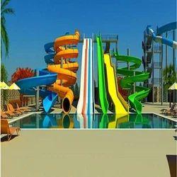 Big Water Park Slide