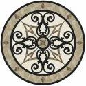 Marble Floor Medallion