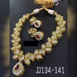 AD Kundan Necklace