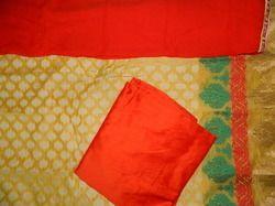 Aaditri Ladies Banarsi Silk Suit Material
