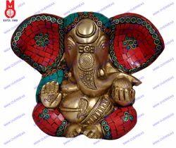 Appu Ganesh Carved W/ Stone Work