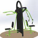 Chest Press & Shoulder EXR Combine Machine