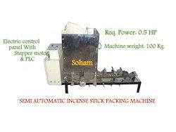 Semi Automatic Incense Stick Packing Machine