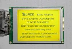 320x240 Graphic display, Yellow-Green Mode