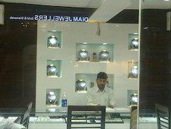 Jwellery Showroom Light