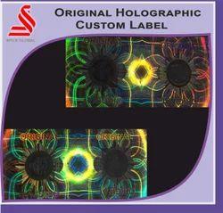 Original Holographic Custom Label
