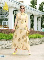 Embroidery Long Kurtis