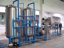 Mineral Water Treatment RO Plant