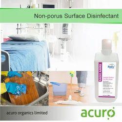 Non-Porus Surface Disinfectant