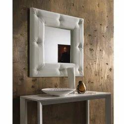 Soft Bianco Quadrato Bathroom Mirror