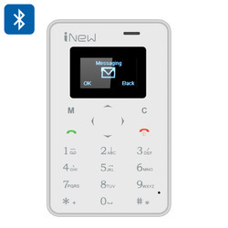 credit card phone white