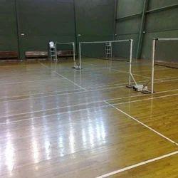 Four Side Glass Squash Flooring