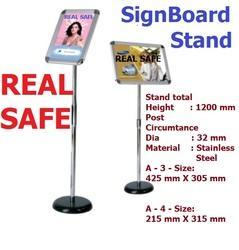 Sign Board Stand