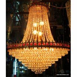 Crystal Beads Glass Jhumar