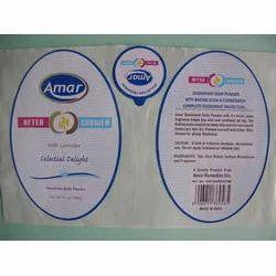 Cosmetics Label Printing Service