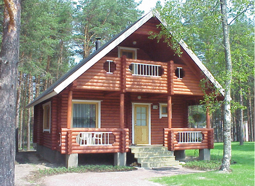 Bamboo Wood Cottage