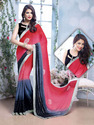 Indian Embroidery Designer Fancy Sarees