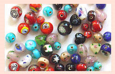 Spiral Shaped Beads Mix Code : MA-04