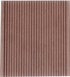 WPC Decking Wild Field Brown - Grooves