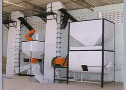Semi Automatic Cattle Feed Machine