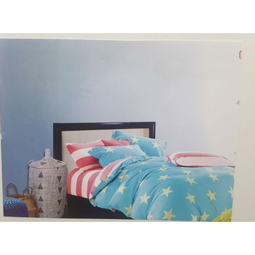 Star Printed Bed Sheet