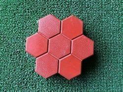 Seven Hexagon PVC Moulds
