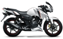 TVS Apache 160 Motorcycle