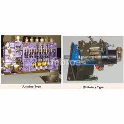 Diesel Fuel Pump Actual Cut Section