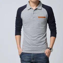 Mens full sleeves t shirt men long sleeves t shirt for Linen shirts for mens in chennai