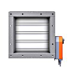 Fire and smoke dampers motorized from enviro tech for Motorized smoke fire damper